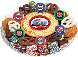 Teacher Appreciation Cookie Pie & Cookie Platter
