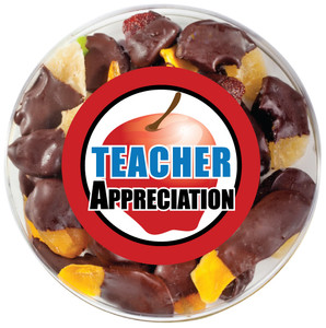Teacher Appreciation Chocolate Dipped Dried Fruit