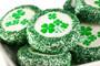 St Patrick's Day Custom Printed Chocolate Oreo Cookies