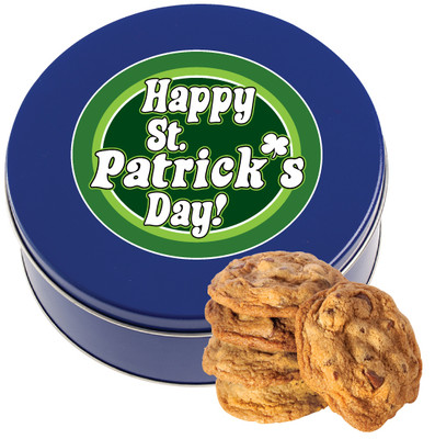 St Patrick's Day Chocolate Chip Cookie Tin
