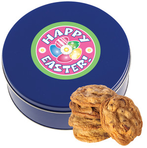 Easter/ Spring Chocolate Chip Cookie Tin