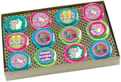 Easter Cookie Talk 12pc Chocolate Oreo Box