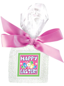 Easter Custom Printed Chocolate Graham - Pink Ribbon