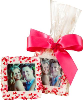 Valentine's Day Custom Printed Chocolate Half Graham