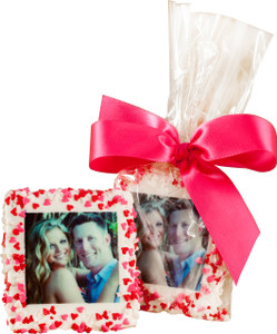 Valentine's Day Custom Printed Chocolate Half Graham