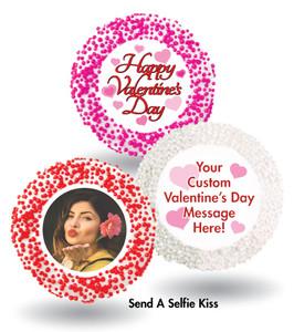 Valentine's Day Custom Printed Chocolate Oreo Cookie