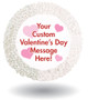 Valentine's Day Custom Message Chocolate Oreo Cookie
