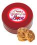 Valentine's Day Chocolate Chip Cookie Tin - Love