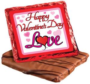 Valentine's Day Cookie Talk Chocolate Graham