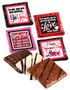 Valentine's Day Cookie Talk Chocolate Graham - Romantic
