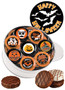 Halloween Cookie Talk 16pc Chocolate Oreo Tin