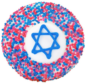 Hanukkah Custom Printed Chocolate Oreo