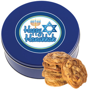 Hanukkah Chocolate Chip Cookie Tin
