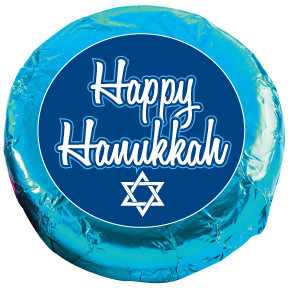 "HANUKKAH ""COOKIE TALK"" CHOCOLATE OREOS W/ MESSAGES"
