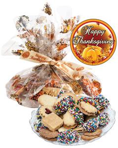 Thanksgiving Butter Cookie Assortment Platter