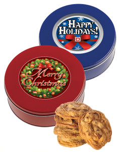 Christmas/Holiday Chocolate Chip Cookie Tin
