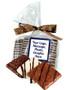 Custom Chocolate Graham Duo In Favor Bag
