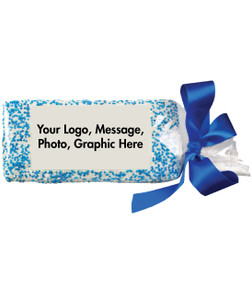 CUSTOM FAVOR/ BUSINESS GIFT - Full Graham Direct Print Cookie  - Your Logo, Message, Photo, Graphic - SPECIAL ORDER