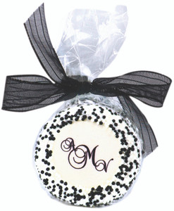 Favor - Custom Printed Monogram Oreo Bag