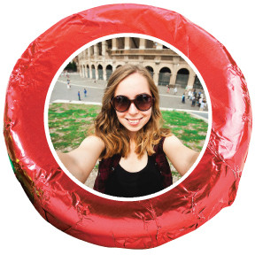 Selfie Chocolate Oreo Cookie - Red
