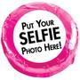 Selfie Chocolate Oreo Cookie - Pink Sample