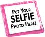 Selfie Chocolate Graham Cookie - Pink Sample