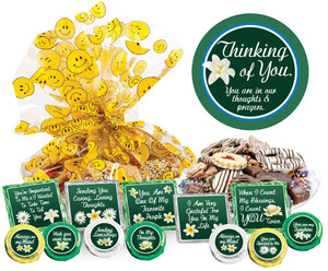 """Thinking Of You """"Cookie Talk"""" Message Platters"""