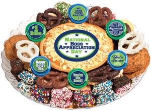 BEST BOSS COOKIE PIE & COOKIE ASSORTMENT PLATTER