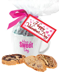 Valentine's Day Biscotti Mug - Traditional