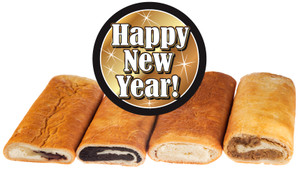 Happy New Year Hungarian Nut Rolls