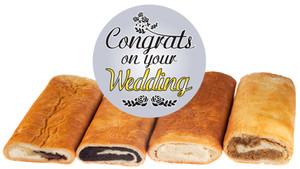 Wedding Hungarian Nut Rolls