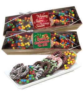 Christmas Gourmet Pretzel Assortment box