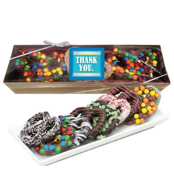 Thank You Gourmet Pretzel Assortment - Box Large