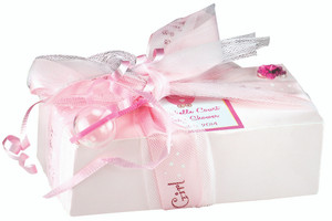 Custom Favor Cookie Petite Pack - Pink