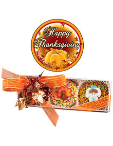 Thanksgiving Decorated Chocolate Oreo Trio