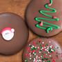 Christmas Decorated Chocolate Oreo with Sugar Art