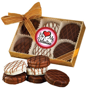 VALENTINES DAY CHOCOLATE DRIZZLED OREO 6 PK.