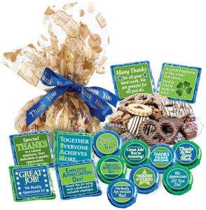 Employee Appreciation Cookie Talk Message Platter