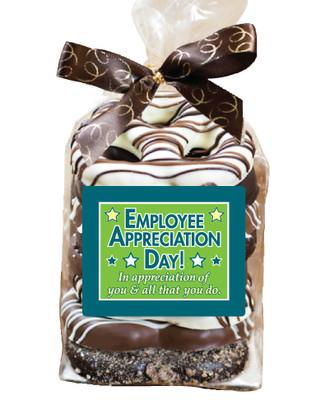 Employee Appreciation 8pc Gourmet Chocolate Pretzel Bag