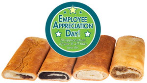 EMPLOYEE APPRECIATION HUNGARIAN NUT ROLLS