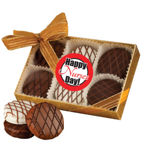 NURSE APPRECIATION CHOCOLATE DRIZZLED OREO 6 PK.