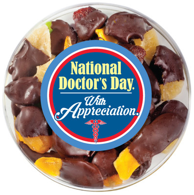 Doctor Appreciation Chocolate Dipped Mixed Fruit