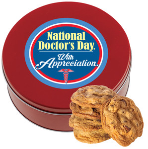 Doctor Appreciation Chocolate Chip Cookie Tin