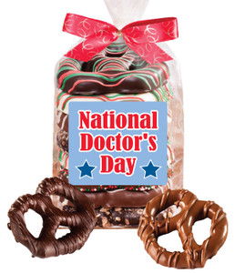 Doctor Appreciation 8pc Chocolate Pretzel Bag