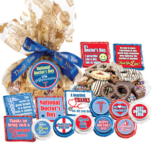 Doctor Appreciation Cookie Talk Message Platter