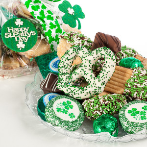 St Patrick's Day Cookie Platter Supreme
