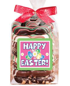 Easter Gourmet 8pc Chocolate Pretzel Bag