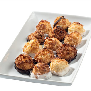 MINI COCONUT MACAROONS - Deliciously, Bite-Sized - each .5 oz