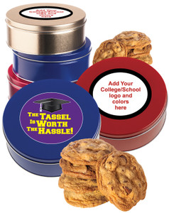 Back-To-School  Chocolate Chip Cookie Tin