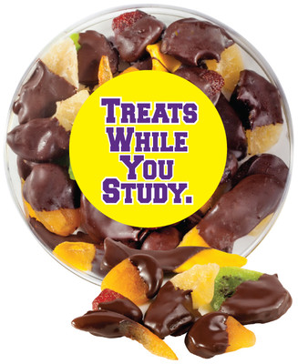 Back To School Chocolate Dipped Dried Mixed Fruit